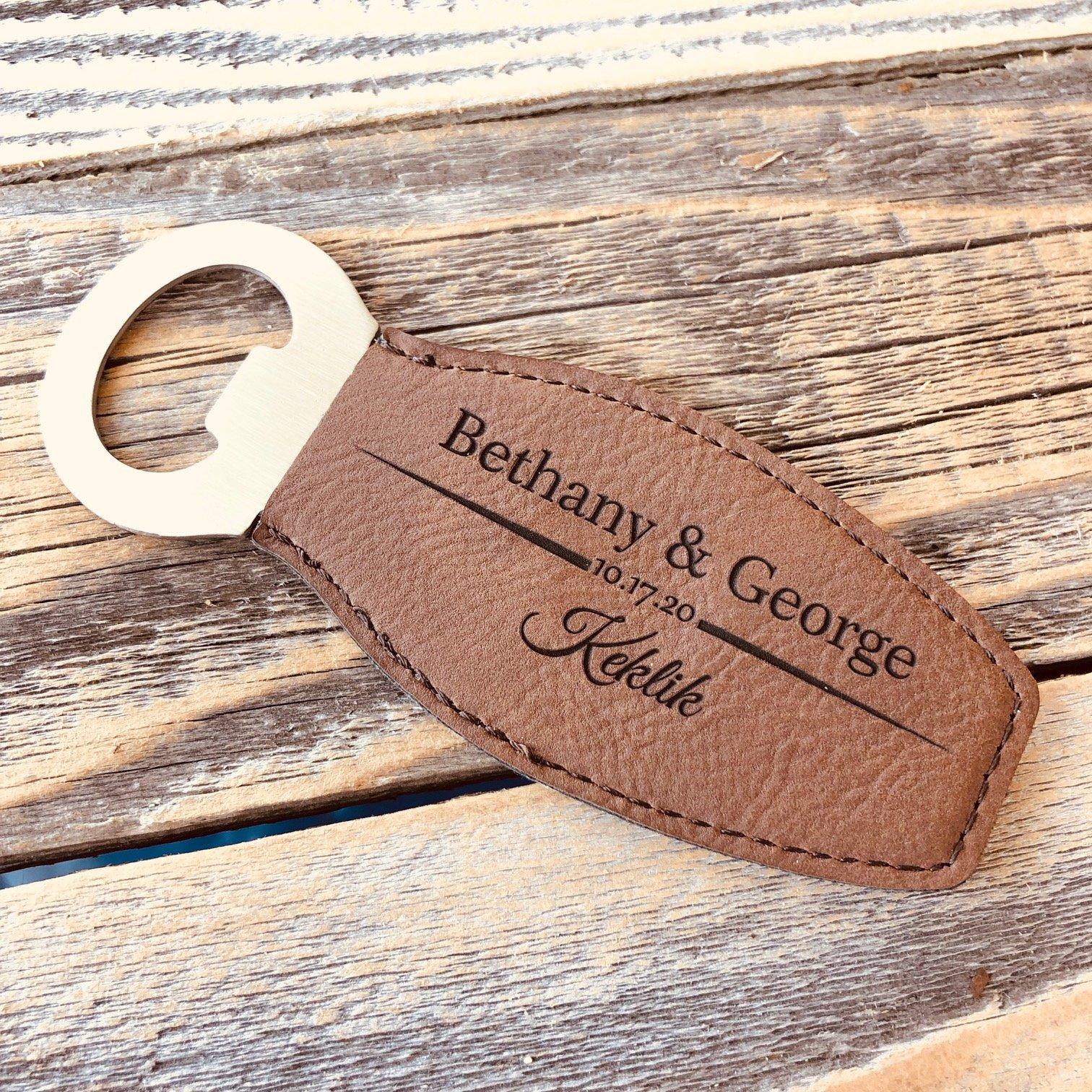 Unique Bottle Opener Favors For Wedding Guests