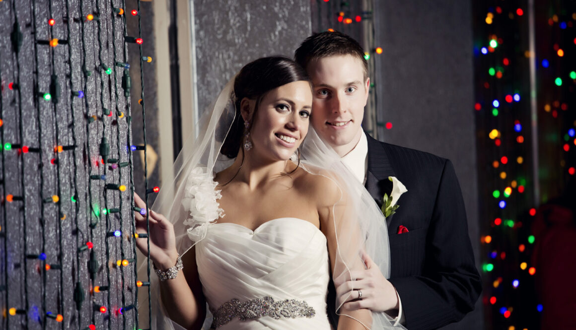 Rochester bride and groom