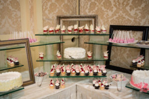 pink dessert station royal park hotel