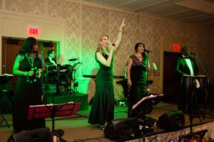 Chateau Band Royal Park Hotel wedding reception
