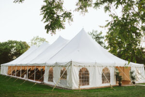 cornman farms tent wedding detroit michigan special events planner
