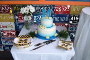 detroit michigan special events planner u of m cake