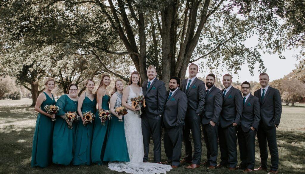 bridal party ann arbor, michigan