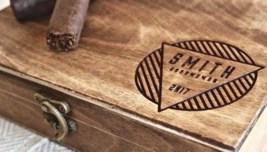 cigar box groomsmen gift