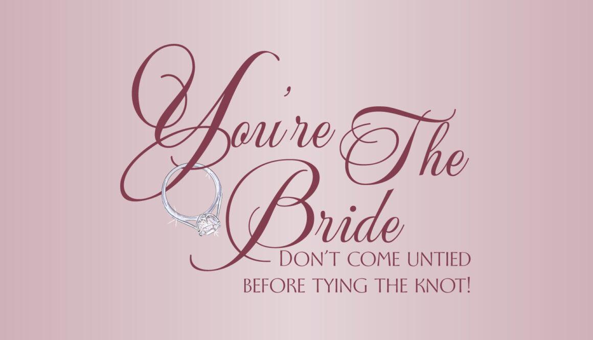 You're The Bride Logo Detroit wedding planner