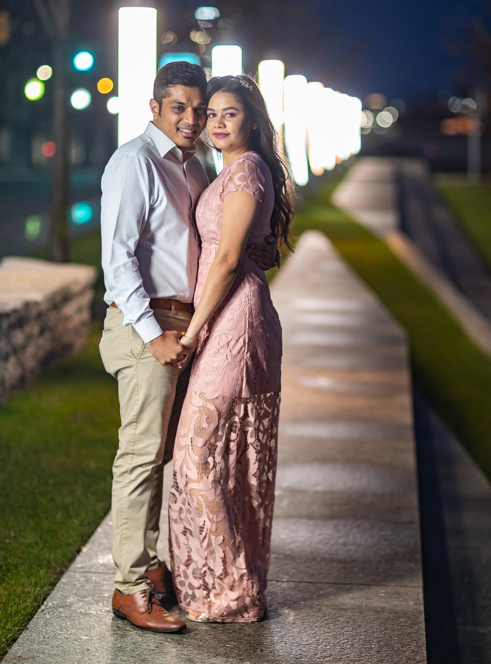 newly engaged couple detroit