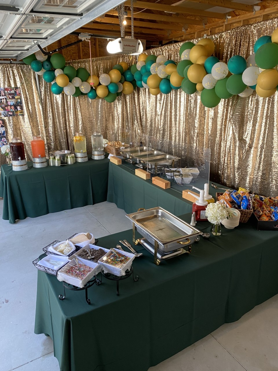 graduation party catering food